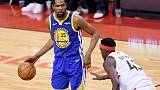 Woods feels Durant's pain after Achilles injury