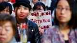 With flowers and personal stories, Japan sexual abuse survivors seek reform