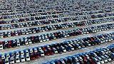 انخفاض مبيعات السيارات في الصين 16.4% في مايو