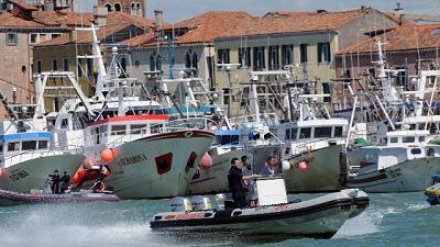 Disperso marinaio peschereccio