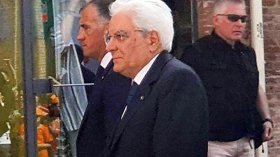 Mattarella a Fabriano per Forum Unesco