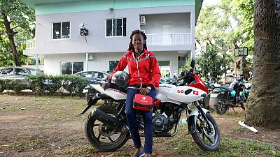Motorbike taxi firms rev up for race into West Africa