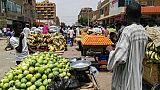 Un marché de Khartoum au Soudan, le 11 juin 2019