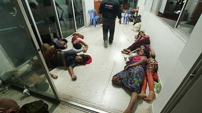 Thailand charges crew of stranded Rohingya boat