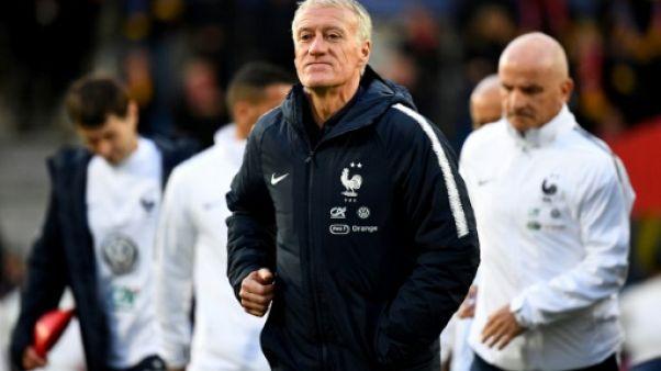L'entraîneur de l'équipe de France, Didier Deschamps, avant le match de qualification à l'Euro 2020 face à Andorre, à La Vella, le 11 juin 2019
