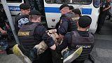 جماعة مراقبة: القبض على 94 شخصا على الأقل في احتجاجات في موسكو