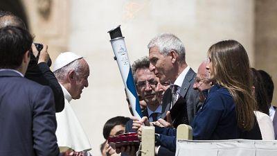 Universiadi: Basile, emozione dal Papa