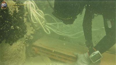 Discarica marina scoperta a Rimini