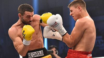 Boxe:De Carolis combatte ad Ostia Antica