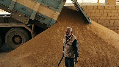 Syrian Kurdish authorities to stop wheat going to government territory