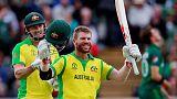 Warner hits century as Australia beat Pakistan