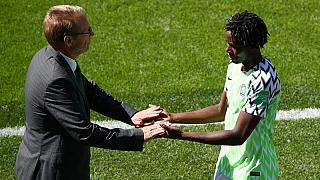 Nigeria upset South Korea for rare World Cup win