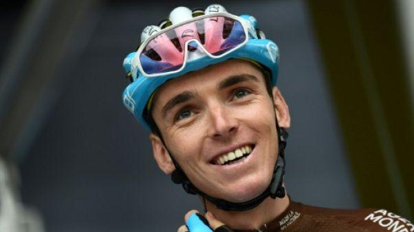 Le Français Romain Bardet lors de la présentation des équipes du 71e Critérium du Dauphiné, le 9 juin 2019 à Aurillac