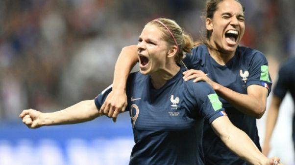 Mondial-2019: les Bleues battent la Norvège 2-1 et font un grand pas vers les 8es