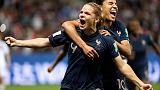 Le Sommer penalty puts France on brink of last 16