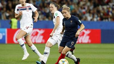 Mondiali donne: Francia batte Norvegia