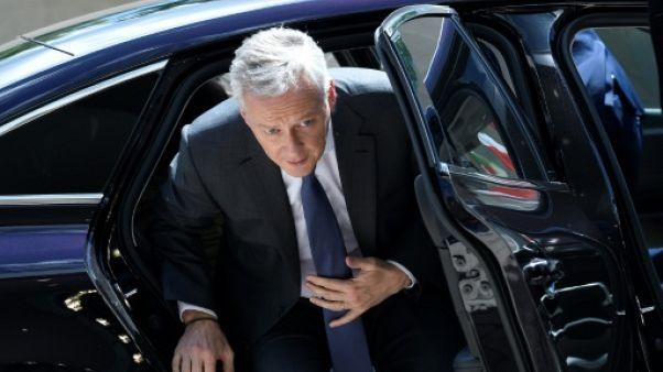 Le ministre français des Finances, Bruno Le Maire, à son arrivée à une réunion de l'Eurogroupe au Luxembourg, le 13 juin 2019
