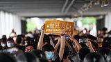 Manifestation contre le projet de loi sur l'extradition à Hong Kong, le 13 juin 2019
