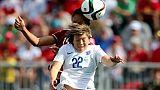 L'attaquante anglaise Fran Kirby lors du match de phase de groupes du Mondial 2015 face au Mexique, à Moncton au Canada, le 13 juin