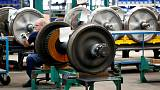 Euro zone industry output drops again, dragged down by Germany