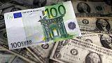 U.S. politics gives euro's global use a boost - ECB