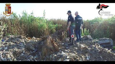 Terreni usati come discarica,23 indagati