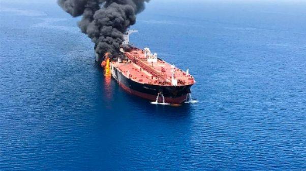 Le pétrole bondit après des attaques contre deux tankers dans le Golfe