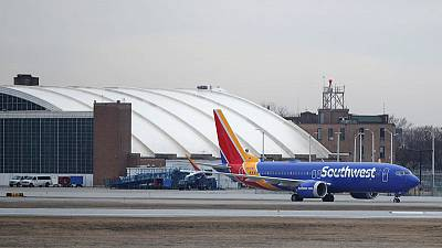 Southwest extends Boeing 737 MAX cancellations through September 2