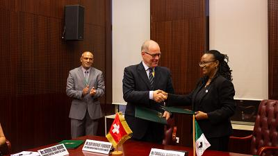 Switzerland gives 3.2 million Swiss francs to African Development Bank's 'Boost Africa' E-Lab and urban development fund