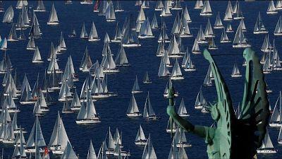 Barcolana veleggia a 'L'Uomo e il Mare'