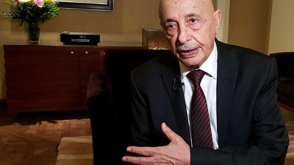 رئيس برلمان شرق ليبيا يستبعد إجراء محادثات قبل السيطرة على طرابلس