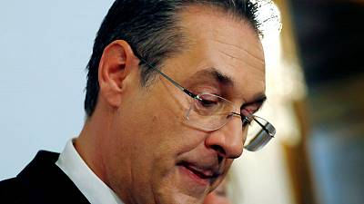 Austrian prosecutors investigating ex-leader of far right over sting video