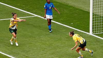 Brazil's Marta becomes first player to score at five World Cups