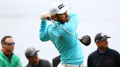 Early bird Oosthuizen gets eagle at U.S. Open