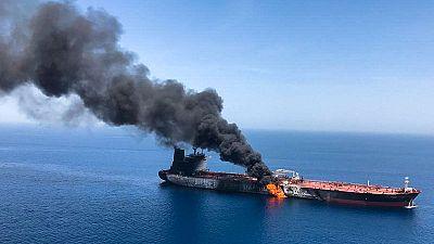 Iran chafes at U.S. blame for tanker attacks