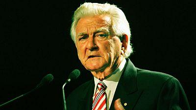 Thousands honour former Australian prime minister Bob Hawke at state memorial