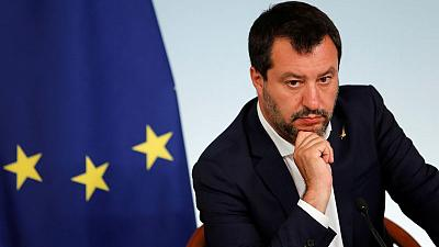 Italy's Salvini says key to cut taxes though 'not all at once'