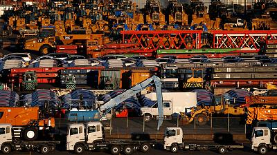 Japan's May exports seen falling for sixth month as trade war escalates - Reuters poll
