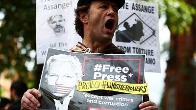 UK court sets Assange's U.S. extradition hearing for February 2020