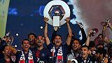 Le PSG, champion de France, le 18 mai 2019 au Parc des Princes, va remettre en jeu son titre le weekend du 10-11 août contre Nîmes