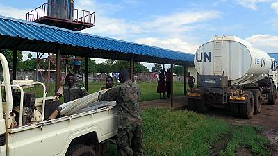 UNMISS to the rescue: Torit hospital receives much-needed water supply