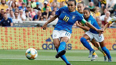 Marta dedicates landmark goal to gender equality