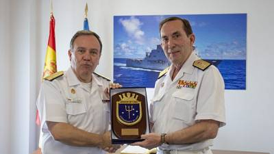 Chief of Chilean Navy visits Operation Atalanta Headquarters in Rota