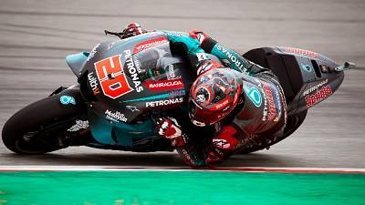 Gp Catalogna:seconde libere a Quartararo