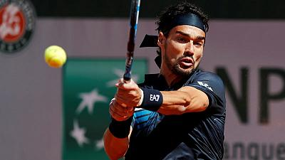 Tennis: Fognini to make debut at Laver Cup