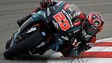GP moto de Catalogne: Quartararo domine les deux premières séances d'essais libres
