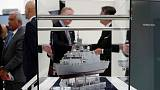 French, Italian shipbuilders forge naval alliance