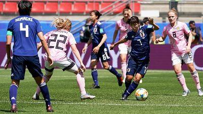 Mondiale donne: Giappone-Scozia 2-1