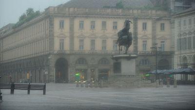 Temporali in arrivo, allerta in Piemonte