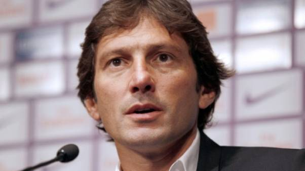 Leonardo directeur sportif du PSG en conférence de presse le 25 juillet 2011
